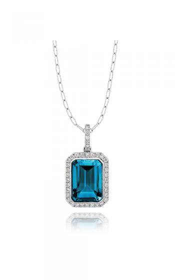 Doves by Doron Paloma London Blue Necklace P8323LBT product image