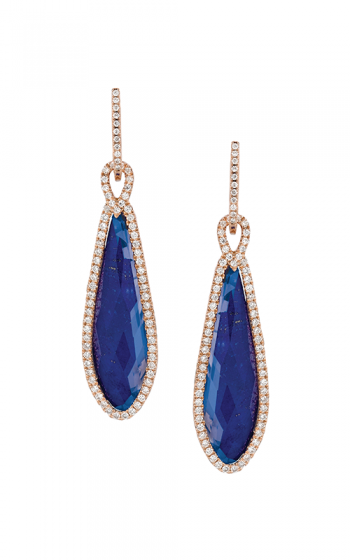 Doves by Doron Paloma Royal Lapis Earrings E5917LP product image