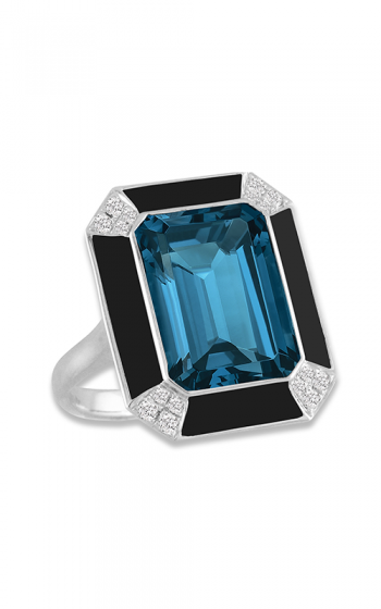 Doves by Doron Paloma London Blue Fashion ring R8897BOLBT product image