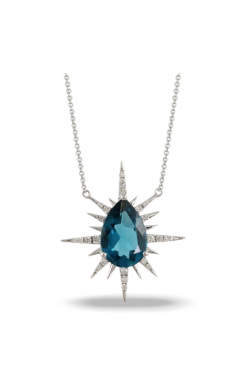 Doves by Doron Paloma London Blue Necklace N9190LBT product image