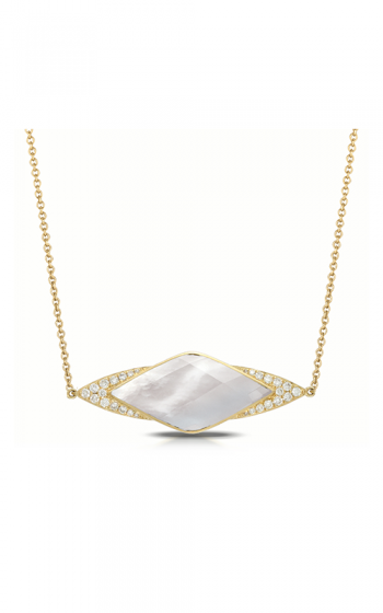 Doves by Doron Paloma White Orchid Necklace N8042WMP product image