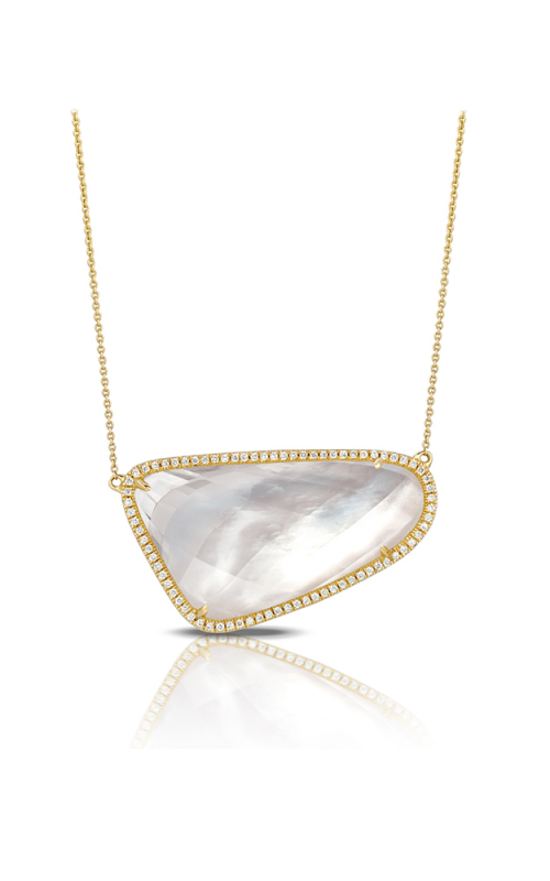 Doves by Doron Paloma White Orchid Necklace N6540WMP product image