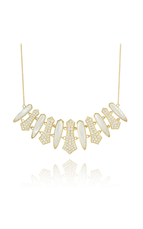 Doves by Doron Paloma White Orchid Necklace N7719WMP product image