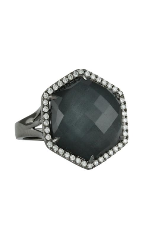 Doves by Doron Paloma Haute Hematite Fashion ring R6141HM product image