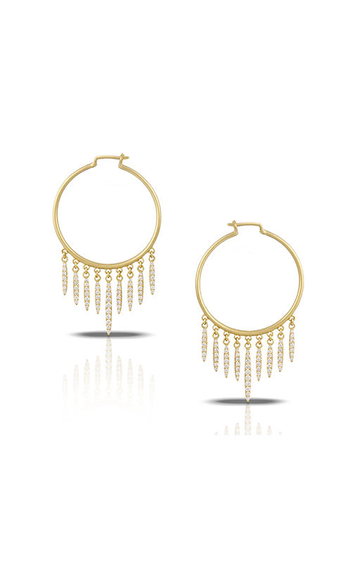 Doves by Doron Paloma Diamond Fashion Earrings E8691 product image
