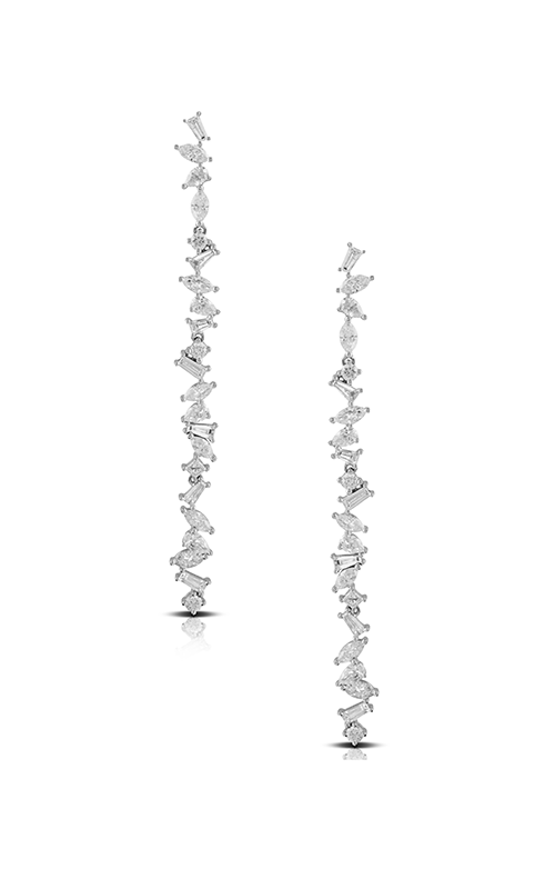 Doves by Doron Paloma Diamond Fashion Earrings E8551 product image