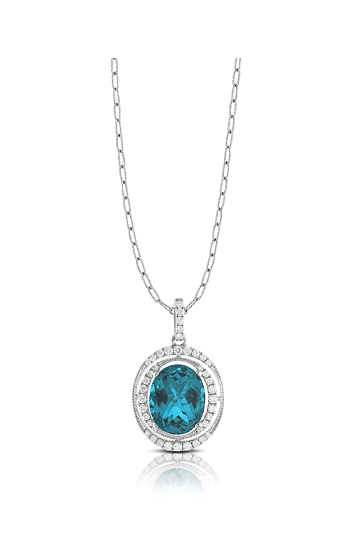 Doves by Doron Paloma London Blue Necklace P8429LBT product image