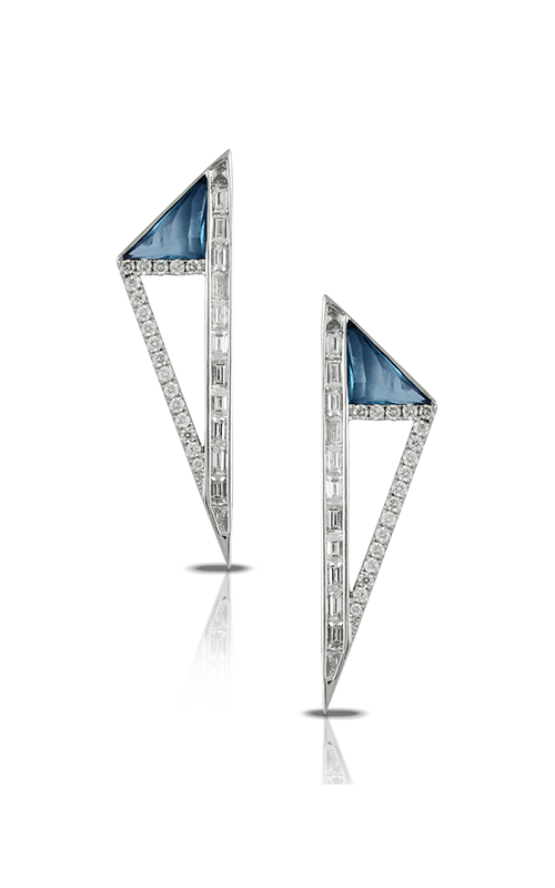 Doves by Doron Paloma London Blue Earrings E8371LBT product image
