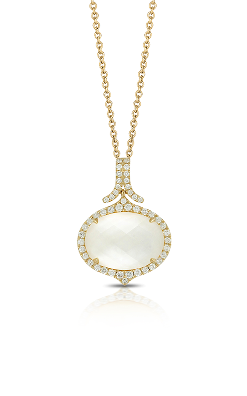 Doves by Doron Paloma White Orchid Necklace P6232WMP-2 product image