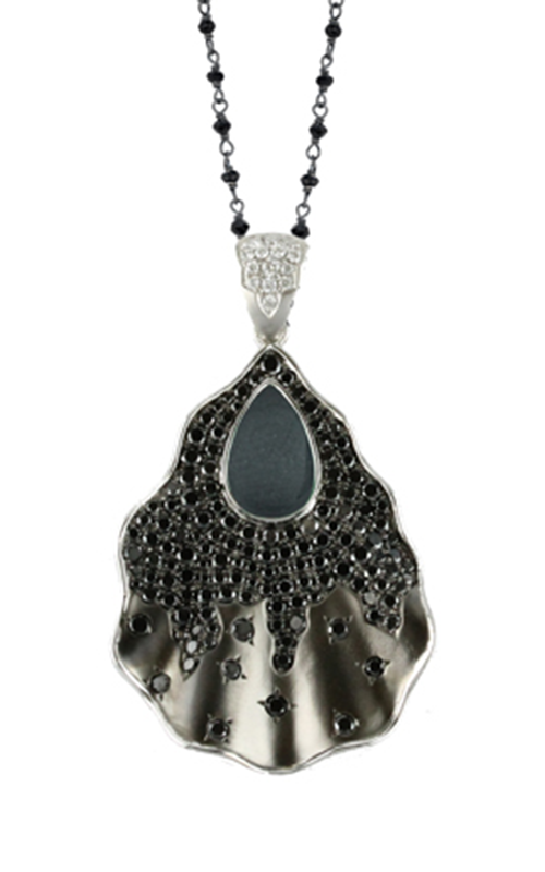 Doves by Doron Paloma Haute Hematite Necklace P6015BHM product image