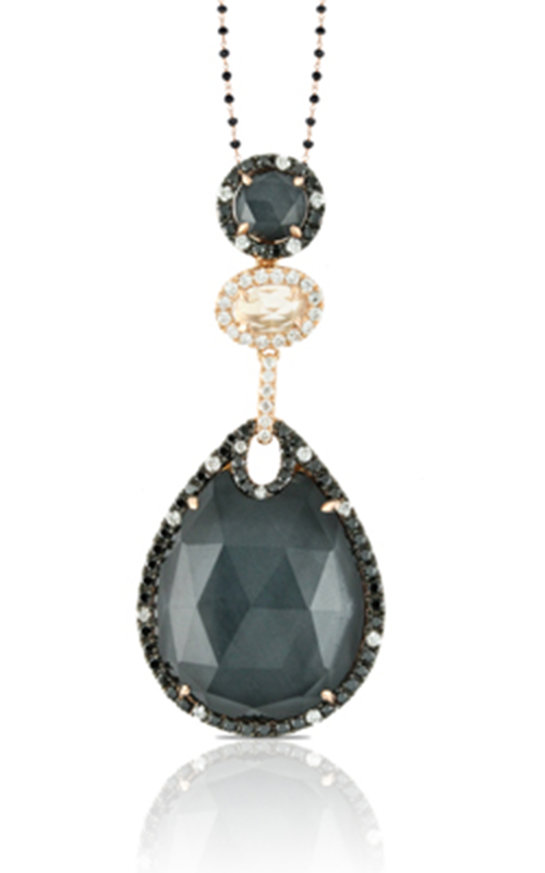 Doves by Doron Paloma Haute Hematite Necklace P6012BHM product image