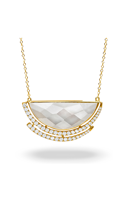 Doves by Doron Paloma White Orchid Necklace N8875WMP product image
