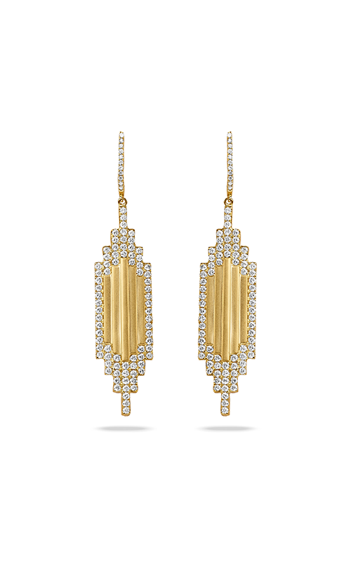 Doves by Doron Paloma Deco Diamond Earrings E8592-1 product image