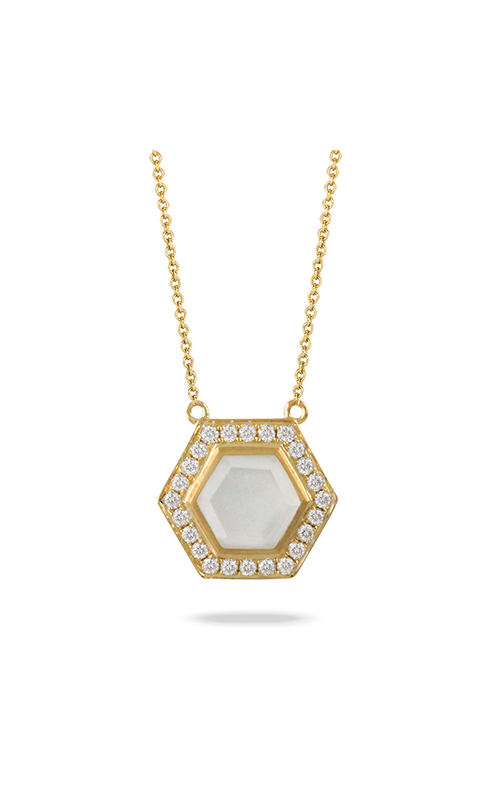 Doves by Doron Paloma White Orchid Necklace N9033WMP product image