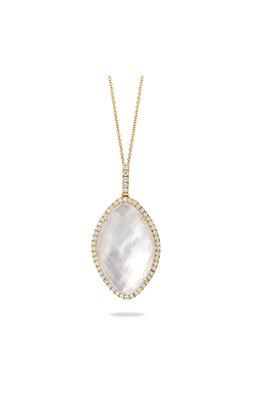 Doves by Doron Paloma White Orchid Necklace P5915WMP product image