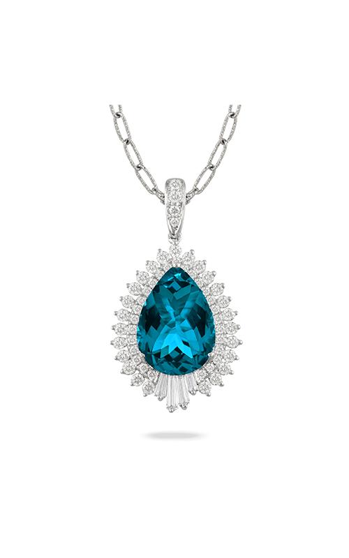 Doves by Doron Paloma London Blue Necklace P8063LBT product image