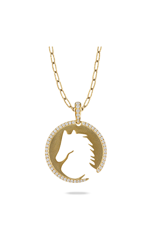 Doves by Doron Paloma Equestrian Necklace P9771 product image