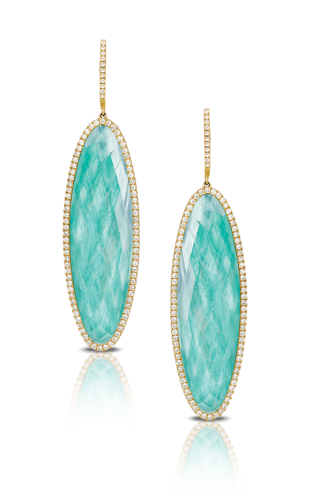 Doves by Doron Paloma Amazonite Earrings E3754AZ product image