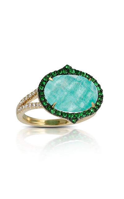 Doves Amazonite Rings R6232AZT product image