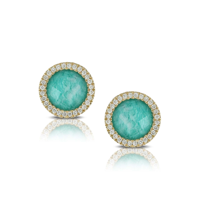 Doves by Doron Paloma Amazonite Earrings E7110AZ product image