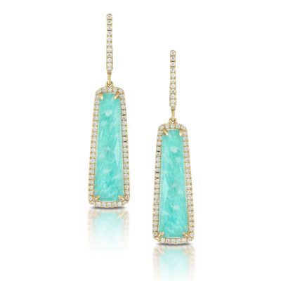 Doves by Doron Paloma Amazonite Earrings E5517AZ product image