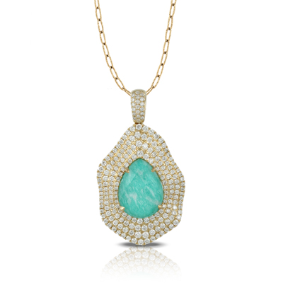 Doves by Doron Paloma Amazonite Pendant P5935AZ product image