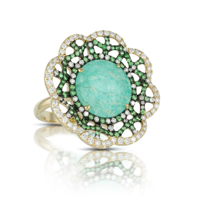 Doves Amazonite Rings R7190AZT product image