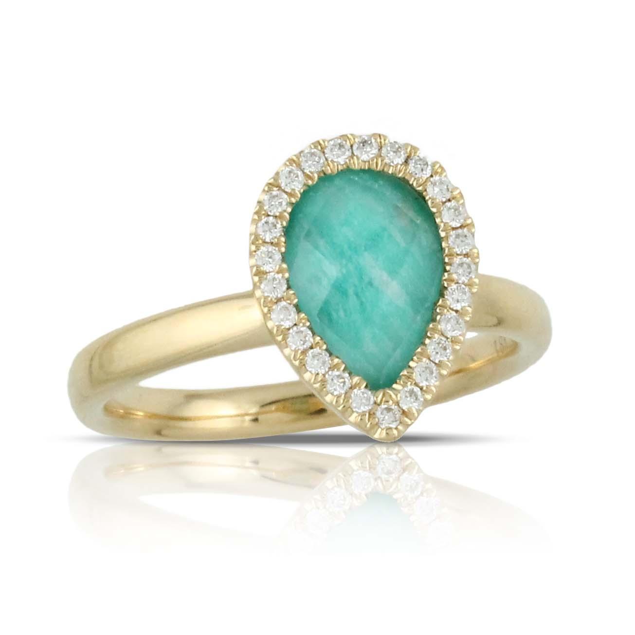 Doves Amazonite Rings R7106AZ product image