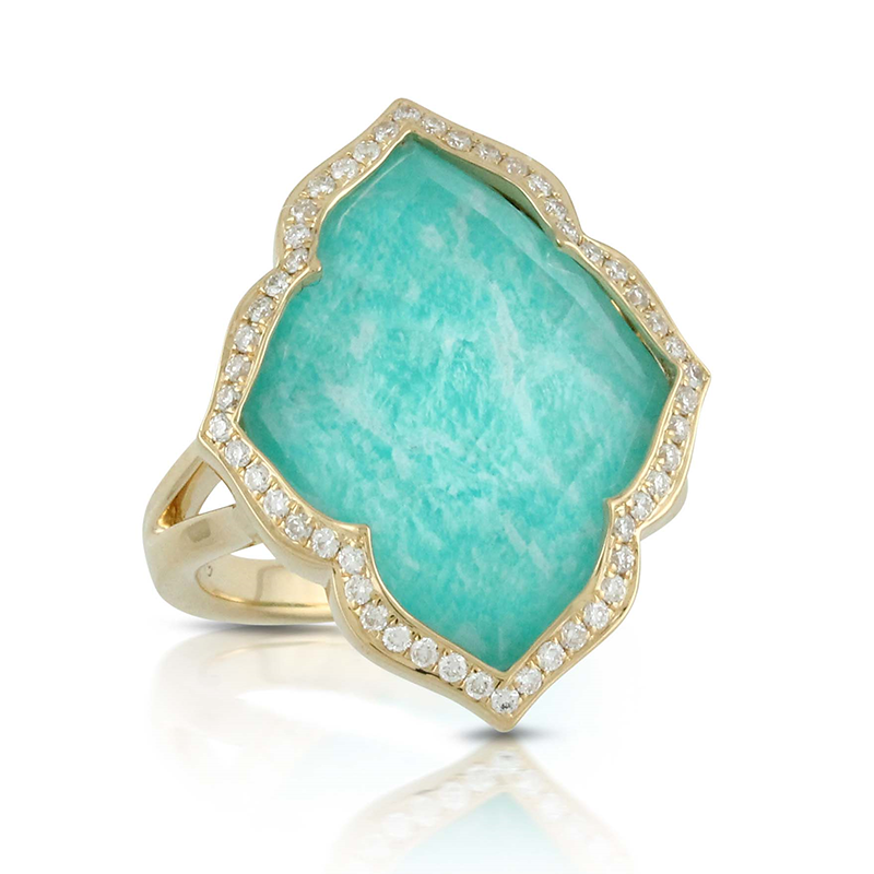 Doves Amazonite Rings R7032AZ product image