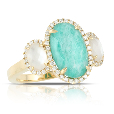 Doves Amazonite Rings R6273AZMP product image