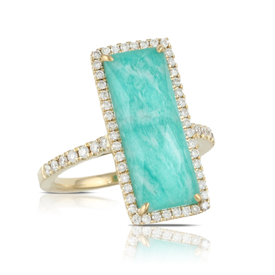 Doves by Doron Paloma Amazonite Rings R6271AZ product image