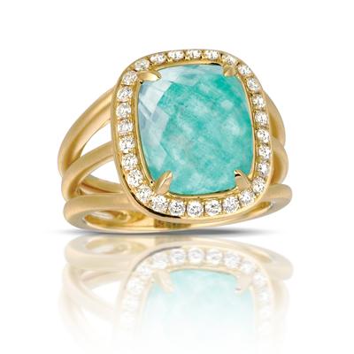 Doves Amazonite Rings R6046AZ product image