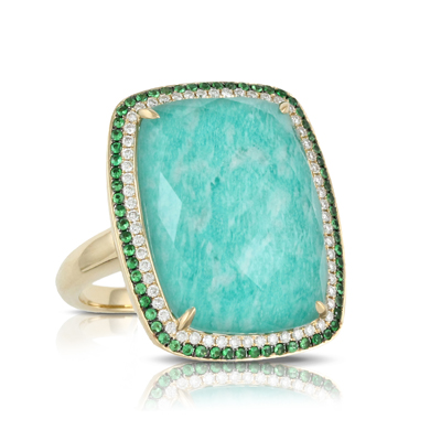 Doves Amazonite Rings R6004AZT product image