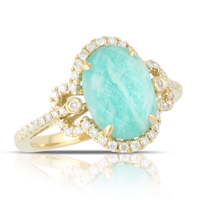 Doves Amazonite Rings R4390AZ product image