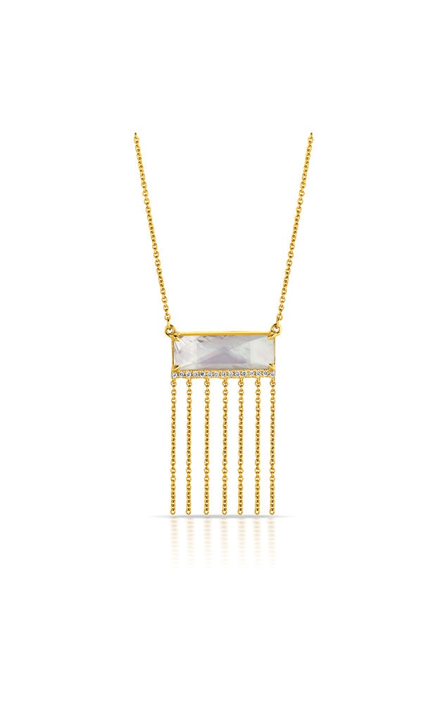Doves by Doron Paloma White Orchid Necklace N7012WMP product image