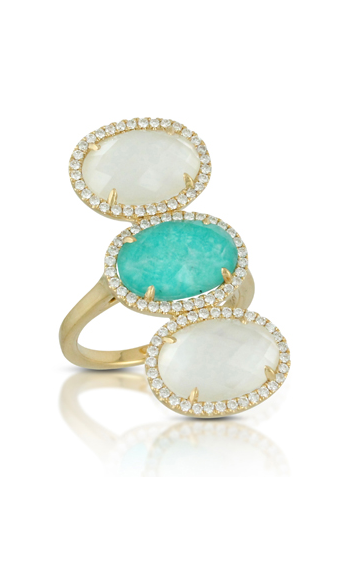 Doves Amazon Breeze Rings R7163AZMP product image