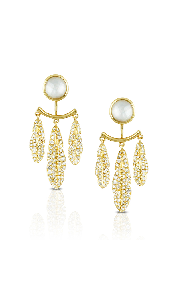Doves by Doron Paloma White Orchid Earrings E7745WMP product image