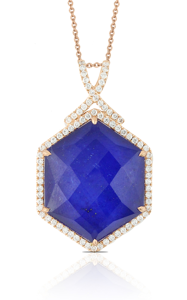Doves by Doron Paloma Royal Lapis Pendant P5521LP product image