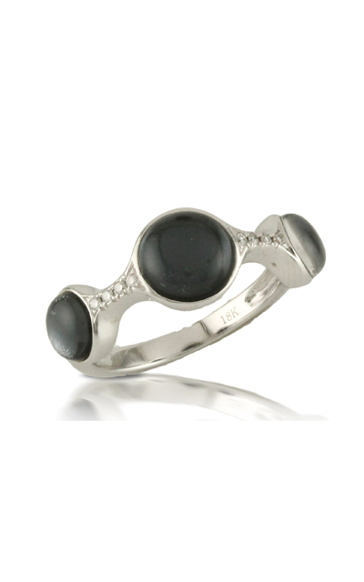 Doves Haute Hematite Ring R6371HM product image