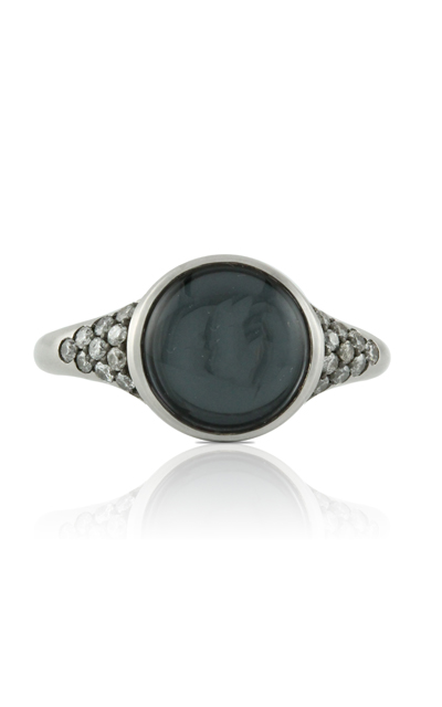 Doves Haute Hematite Ring R6143HM product image