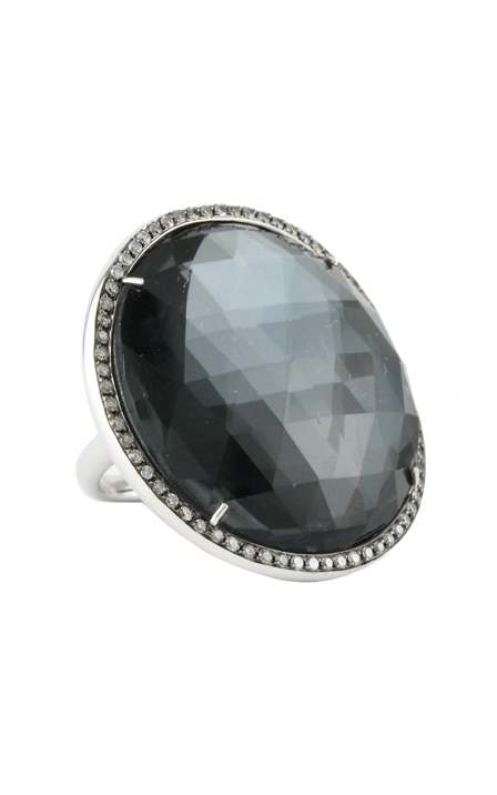Doves Haute Hematite Ring R6142HM product image