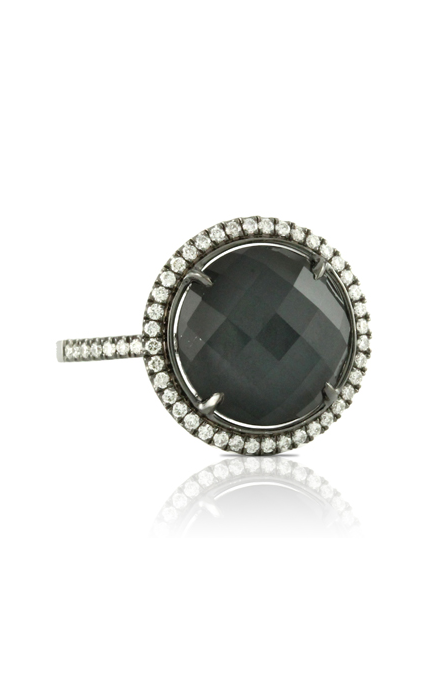 Doves Haute Hematite Ring R6115HM product image