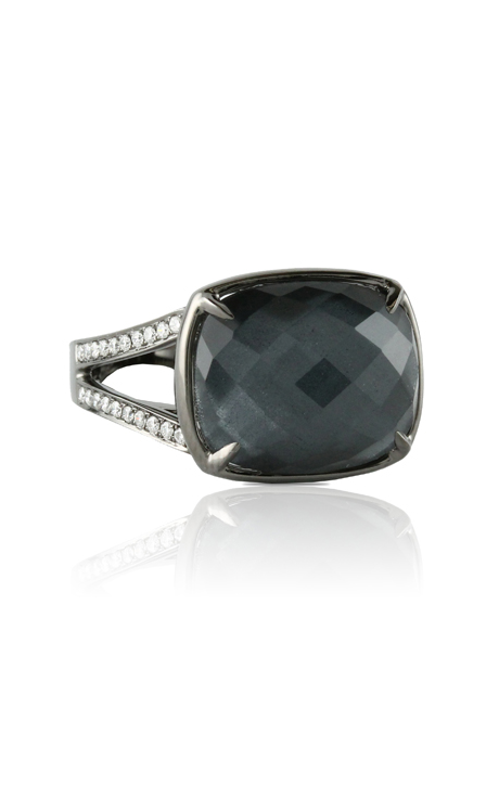 Doves Haute Hematite Ring R6048HM product image