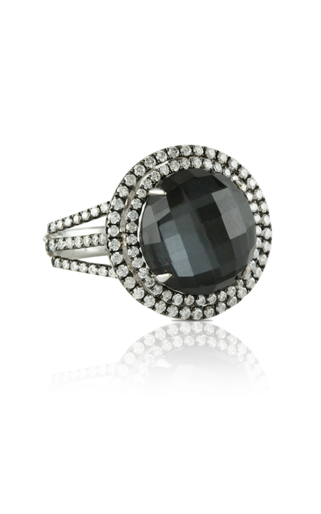 Doves Haute Hematite Ring R6034HM product image