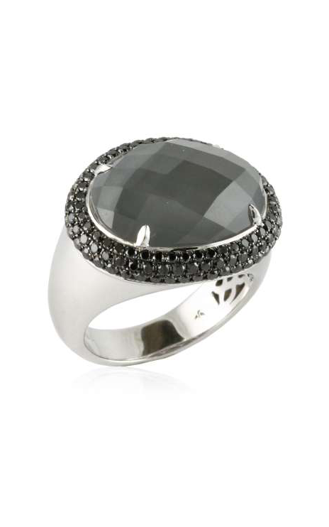 Doves Haute Hematite Ring R5947BHM product image