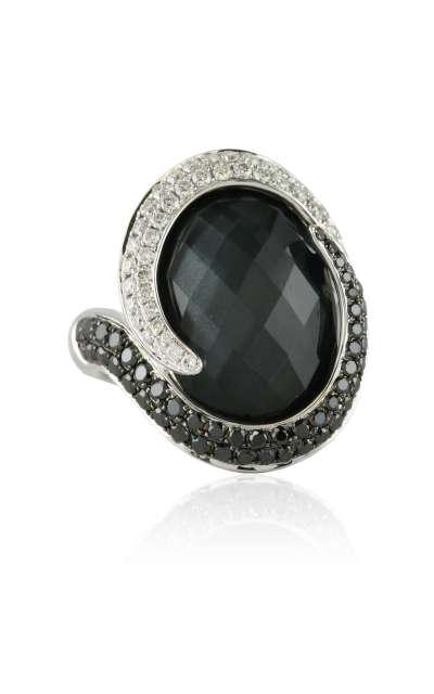 Doves Haute Hematite Ring R5945BHM product image