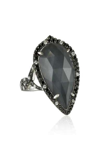 Doves Haute Hematite Ring R5934BHM product image