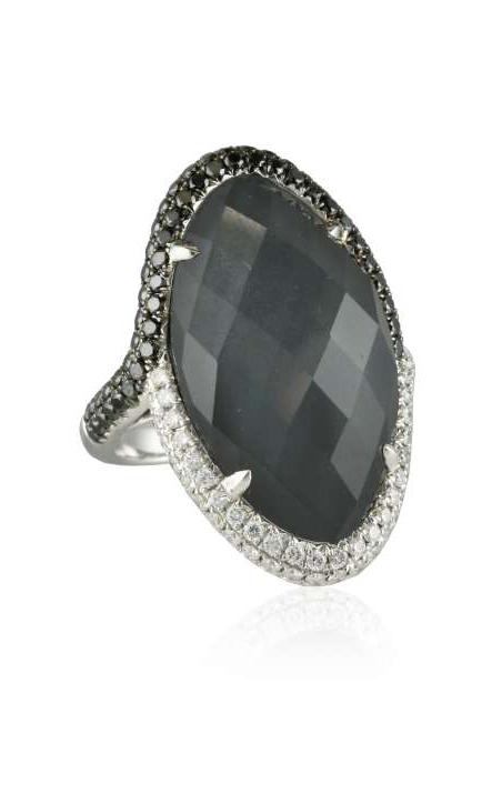 Doves Haute Hematite Ring R5928BHM product image