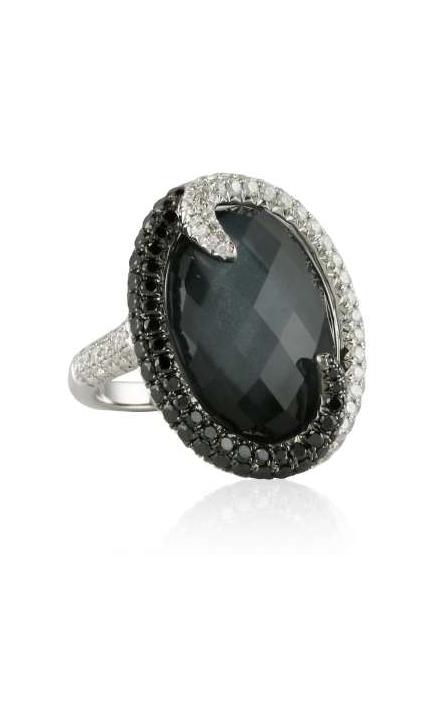 Doves Haute Hematite Ring R5925BHM product image
