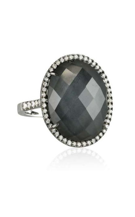 Doves Haute Hematite Ring R5916HM product image